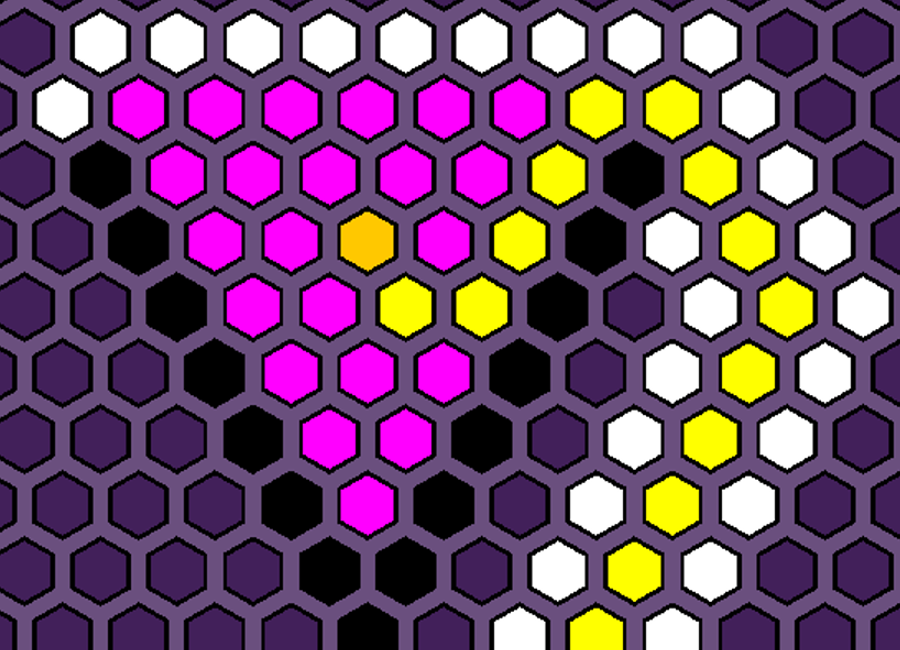 Image of 'Hexagonal A* Pathfinding' Project